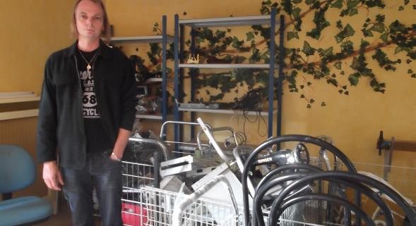 Sensibilisation avec l'atelier recyclage à l'IEM Christian-Dabaddie